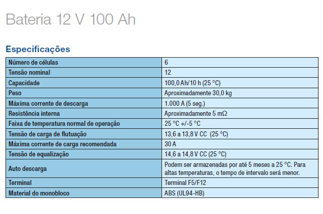 AGM 100AH (VRLA)